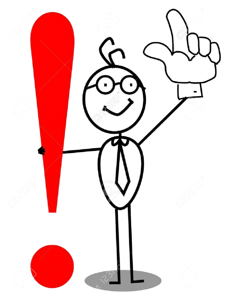 12053673-Business-Attention-exclamation-mark-with-up-hand-Stock-Vector-punctuation-830x1043